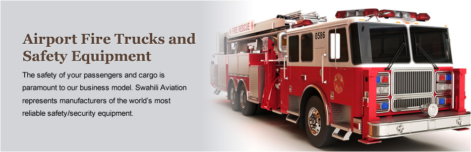 Airport Fire Trucks and  Safety Equipment